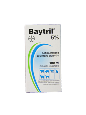Baytril 5% 100 ml